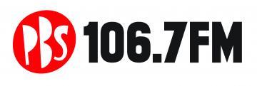 PBS 106.7FM logo