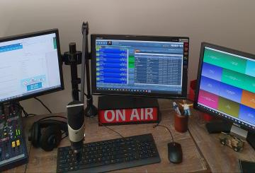 Home set up - Phil Campbell Phoenix FM