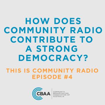 This Is Community Radio - Episode 4