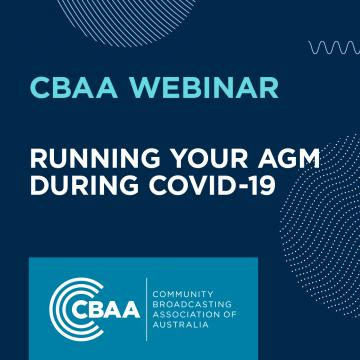 Webinar Promo - Running your AGM during COVID-19
