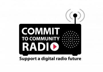 Commit to community radio logo