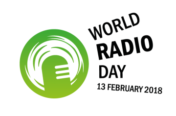 World Radio Day logo 2018