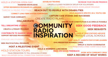 Community radio inspiration