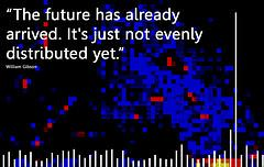"""The future has already arrived. It's just not evenly distributed yet"""