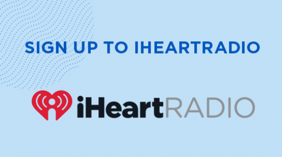 Sign up to iHeartRadio